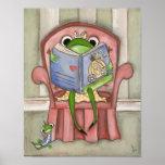 Fairy Tale Frog - Art Print