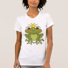 Fairy Tale Frog Prince With Crown T-Shirt