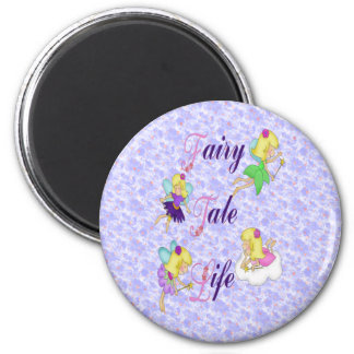 Fairy Tale Life 6 Cm Round Magnet