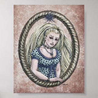 "Fairy Tale ""Rapunzel"" 4x5 Art Print"