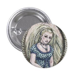 Fairy Tale Rapunzel Fantasy Art Button