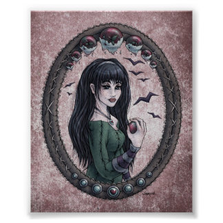 "Fairy Tale ""Snow White"" 4x5 Art Print"