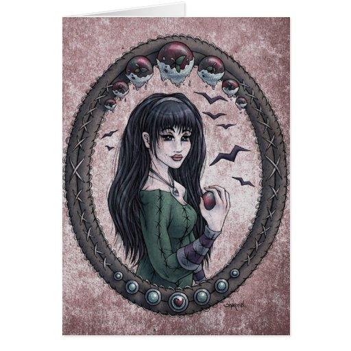 "Fairy Tale ""Snow White"" Fantasy Art Card #1"