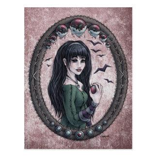 Fairy Tale Snow White Fantasy Art Postcard 1