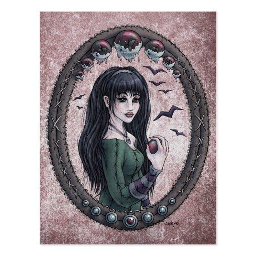 "Fairy Tale ""Snow White"" Fantasy Art Postcard #1"