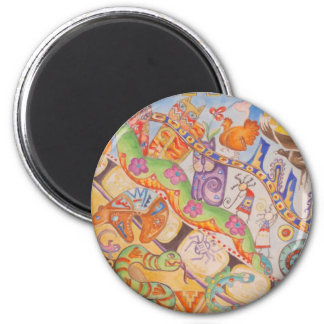 fairy Tale Story 6 Cm Round Magnet