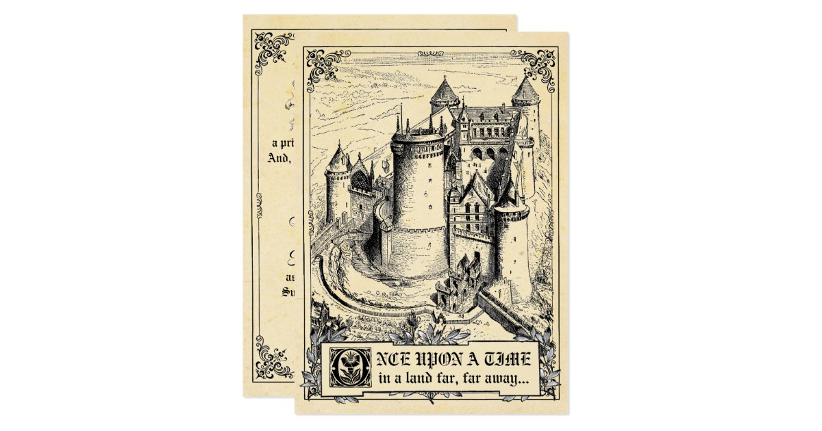 Storybook Wedding Gift : Fairy Tale Storybook Wedding Invitations Zazzle