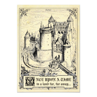 Fairy Tale Storybook Wedding Invitations