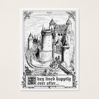 Fairy Tale Storybook Wedding Place Cards
