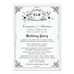 Fairy Tale Storybook Wedding Programs 13 Cm X 18 Cm Invitation Card