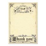 Fairy Tale Storybook Wedding Thank You Cards 9 Cm X 13 Cm Invitation Card