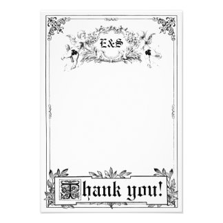 Fairy Tale Storybook Wedding Thank You Cards