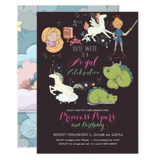 Fairy-tale Themed Party Invitation