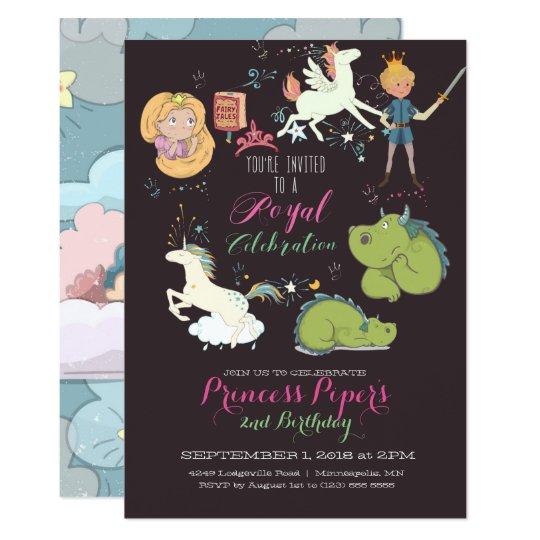 Fairy-tale Themed Party Invitation