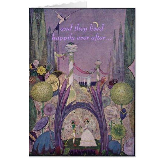 Fairy Tale Wedding Card