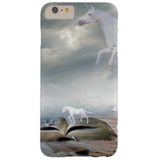Fairy tale White Unicorns Flying Cell Phone Case