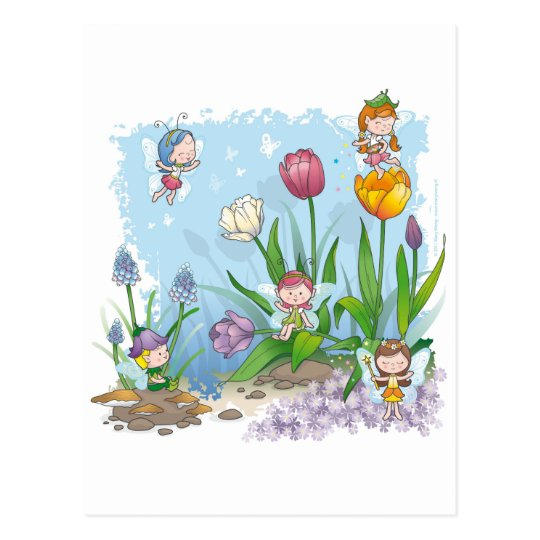 Fairy tale world 3 postcard
