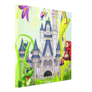 Fairy Tale - Wrapped Canvas