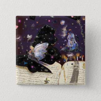 Fairy Tales! 15 Cm Square Badge