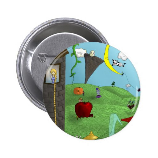 Fairy Tales Pinback Buttons