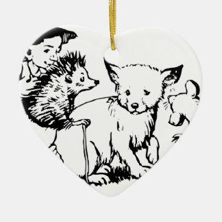 fairy-tales- ceramic heart decoration