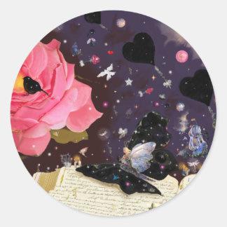 Fairy Tales! Round Sticker