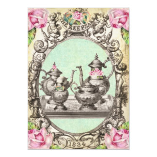 *FaiRy TeA PaRTy GReeTiNG CaRD iNViTaTioNs*