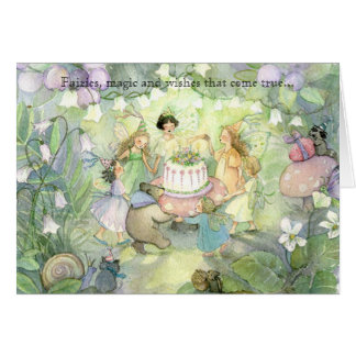 Fairy tea party invitations