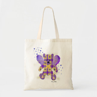 Fairy Teddy Bear tote bag