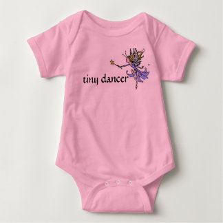 fairy, tiny dancer baby bodysuit