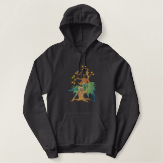 Fairy Tree Embroidered Hoodie