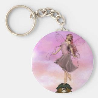 Fairy Turtle Dance II Key Ring