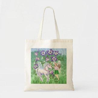 Fairy Unicorn Tote Bag