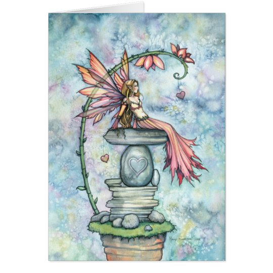 Fairy Valentine Card by Molly Harrison