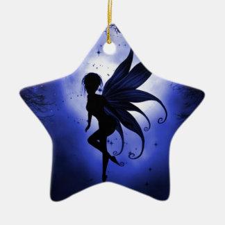 Fairy water dancer ceramic star decoration