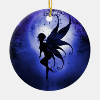 Fairy water dancer christmas ornament