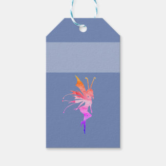 Fairy watercolor Custom Gift Tag