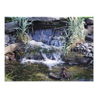 Fairy waterfall photo print