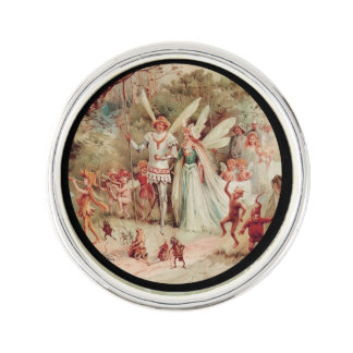 Fairy Wedding Lapel Pin