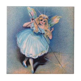 Fairy wishes ceramic tile
