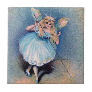 Fairy wishes ceramic tile