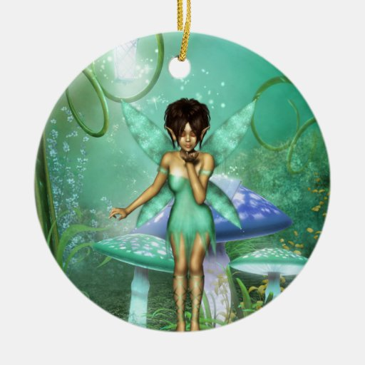 Fairy Wishes Christmas Ornament