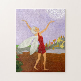 """Fairy Wishes"" Jigsaw Puzzle with Box"