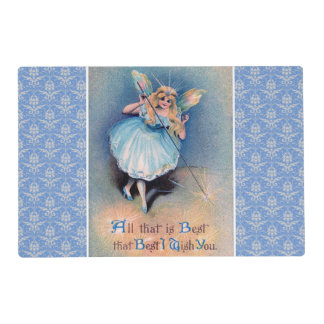 Fairy wishes laminated placemat