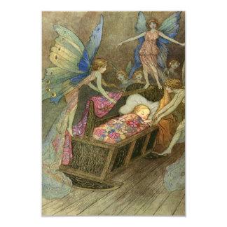 Fairy Wishes rsvp 9 Cm X 13 Cm Invitation Card