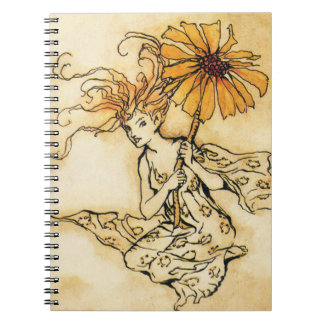 Fairy with Flower Notebook