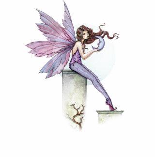 Fairy with Little Moon Sculpture Ornament Photo Sculpture