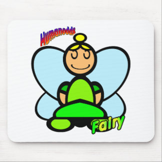Fairy (with logos) mouse mat