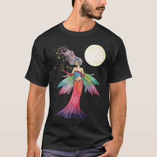 Fairy with Stars and Moon T-Shirt