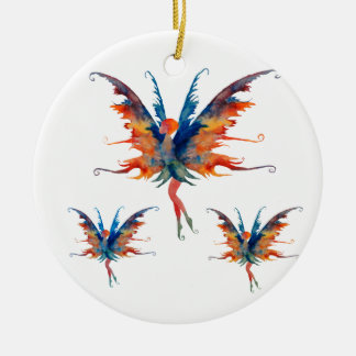 Fairy with wings Ceramic Decoration